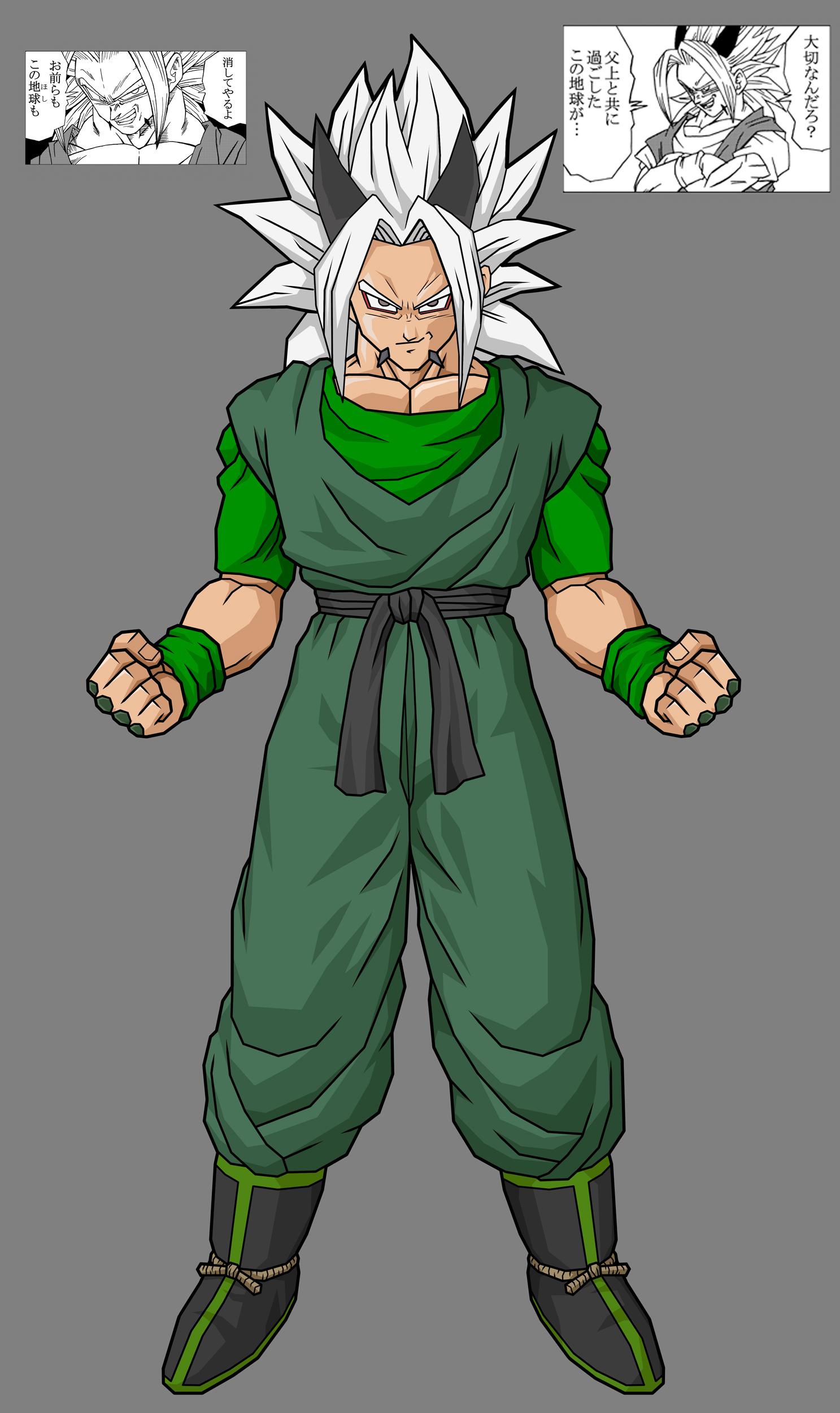 xicor  zaiko  u2013 the evil son of goku  dragon ball af