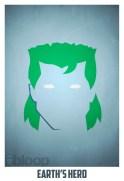 Superheroes and villains minimal art posters (20)