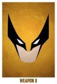 Superheroes and villains minimal art posters (25)