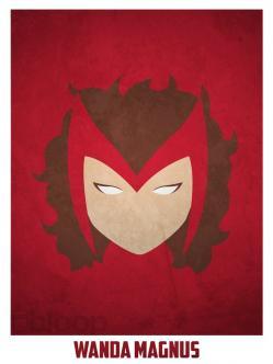 Superheroes and villains minimal art posters (38)