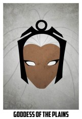 Superheroes and villains minimal art posters (62)