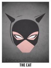 Superheroes and villains minimal art posters (8)