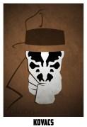 Superheroes and villains minimal art posters (9)