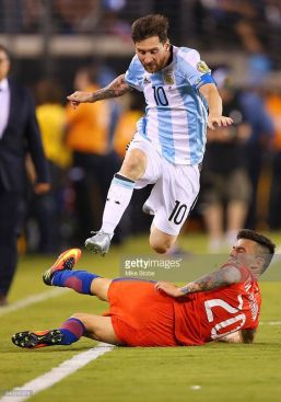 Copa America Centenario Championship match at MetLife Stadium on June 26, 2016 in East Rutherford, New Jersey.