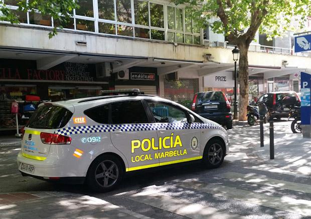 La Policía de Marbella colabora en la desarticulación de una red que introducía en España coches de alta gama robados