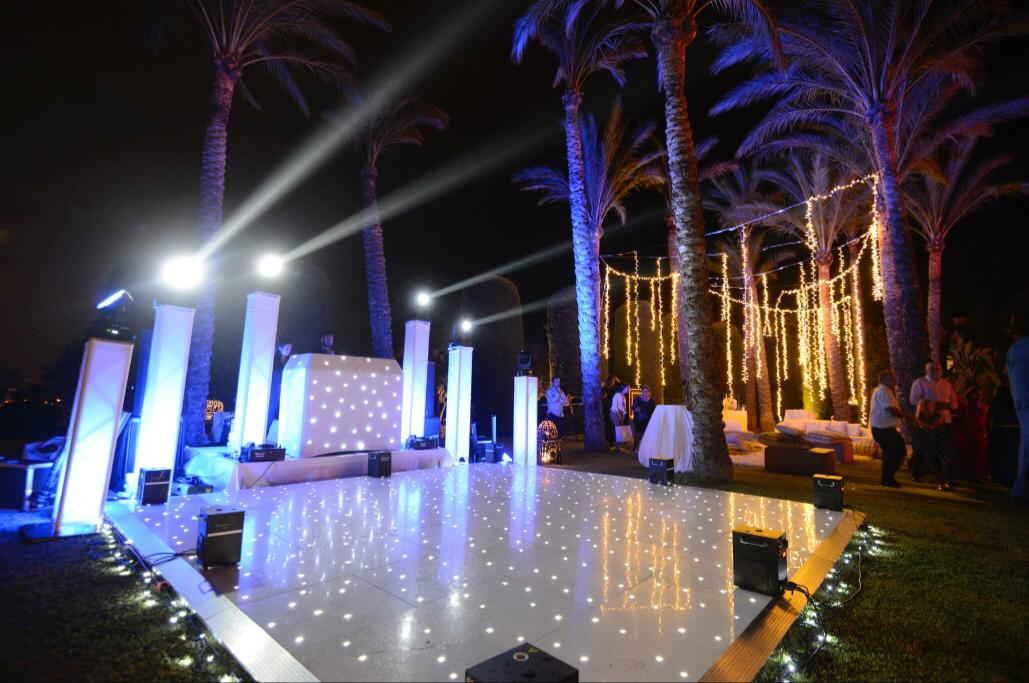 Pista y decoración Marbella Events