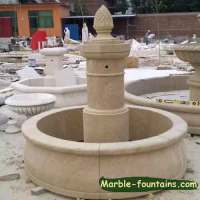 Large contemporary fountain outdoor Modern Marble water ...