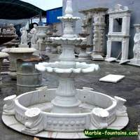 three tier fountain for gardens & 4-tier fountain