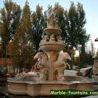 Large Italian Marble Fountains for Pond and extra large ...
