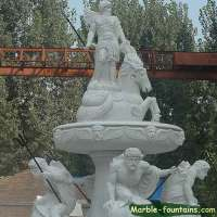 extra large statuary natural stone fountains for sale
