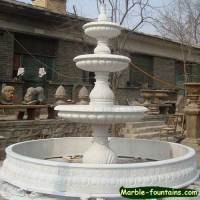 Garden Outdoor decorative Marble carved water fountains
