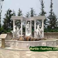 Marble Fountains|Marble Balusters|Factory price Free Shipping