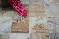 Mint Fossil Sandstone Floor & Wall Tiles 600mm by 400mm