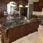 Bring Mystery To Your Kitchen With Black Kitchen Design Ideas Marble Com