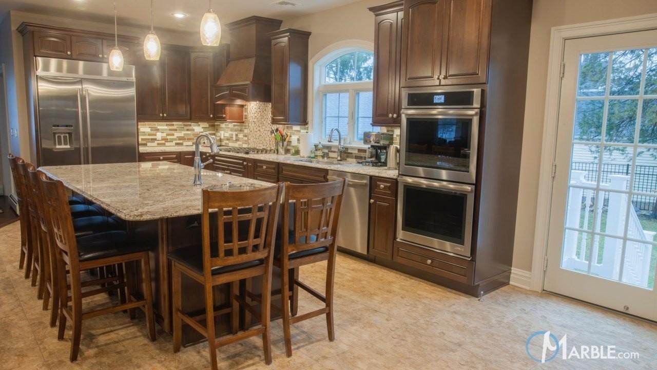 Bianco Antico Granite; Kitchen Design Inspiration; Spotlight