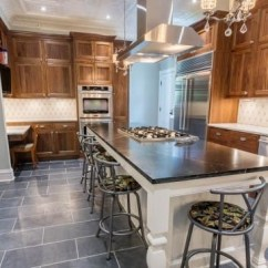 Soapstone Kitchen Country Style Cabinets Pros And Cons Of Marble Vs Natural Stone Countertop Facts A Rich Dark Island