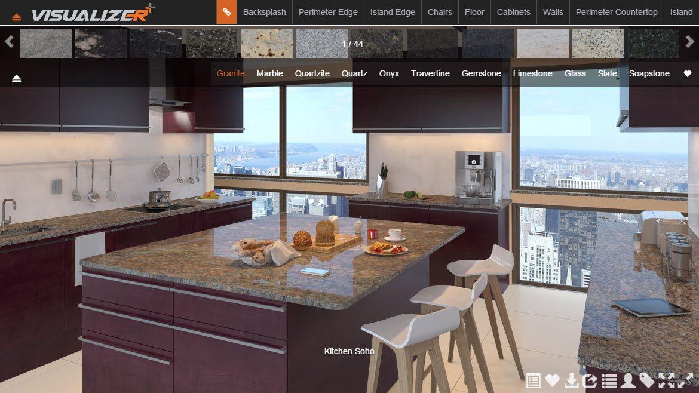 Kitchen Design Visualizer Tool