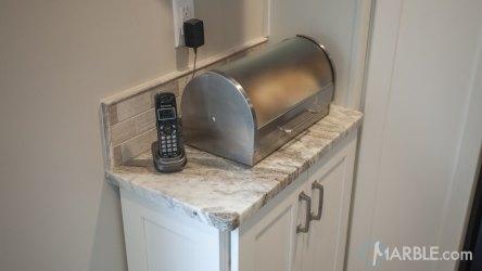 fantasy brown marble quartzite countertop kitchen straight countertops edge kitchens clean