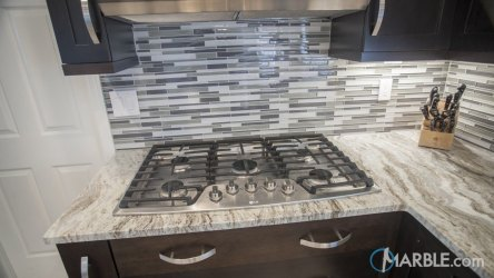 marble fantasy brown quartzite cabinets kitchen dark kitchens counter