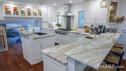 fantasy brown kitchen quartzite marble countertop granite countertops modern kitchens cabinets
