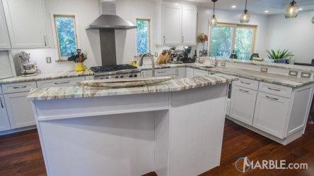 fantasy brown marble kitchen quartzite kitchens countertop modern