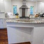 quartzite fantasy brown kitchen modern marble countertop