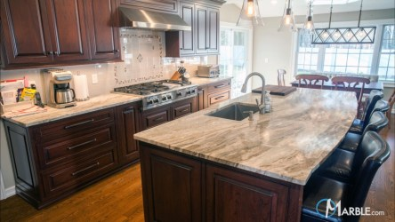 marble brown fantasy kitchen countertops quartzite countertop granite kitchens backsplash cabinets
