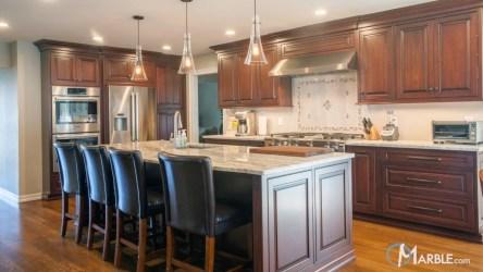 marble brown fantasy kitchen countertops quartzite kitchens