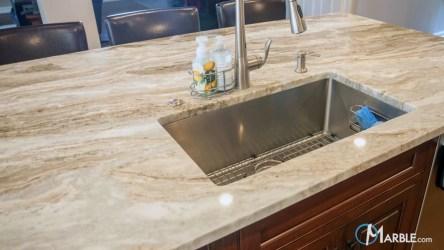 fantasy brown countertops quartzite kitchen marble kitchens