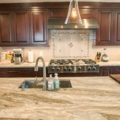 Used Kitchen Cabinets Nj Orange Canisters Fantasy Brown Quartzite Countertops