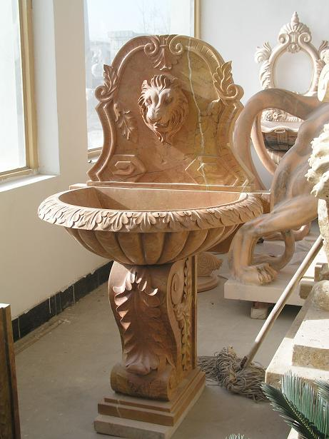 wall fountain  stone carving supplier
