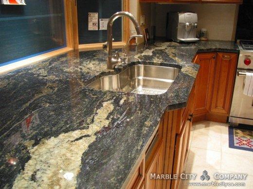 Juparana Colombo Granite Countertop