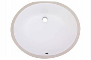 Undermount Oval Bathroom sink
