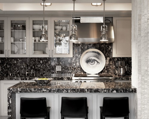 Black and White Granite Countertops  Tampa Designer Tips