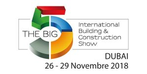 The Big 5, Dubai 26-29 November 2018
