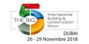 The Big 5, Dubai 26-29 November 2018