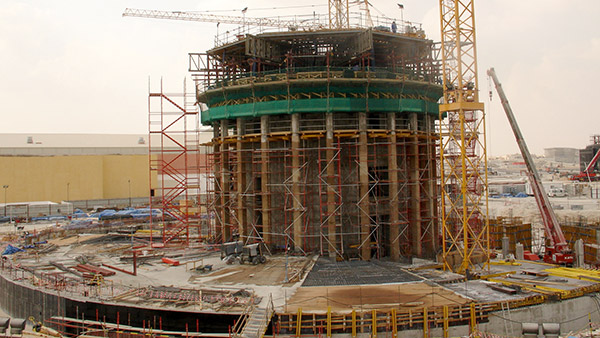Tower Doha construction