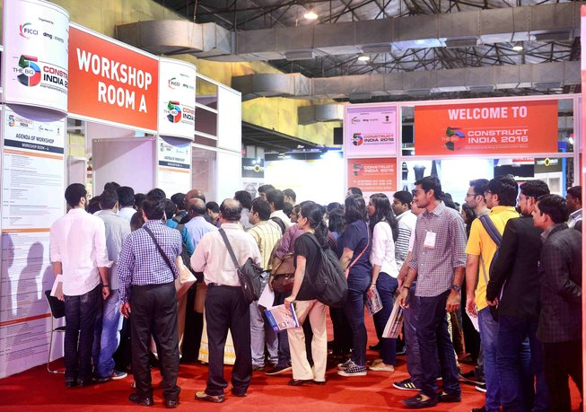 The Big 5 Construct India ,  14 - 16 September 2017  visitors