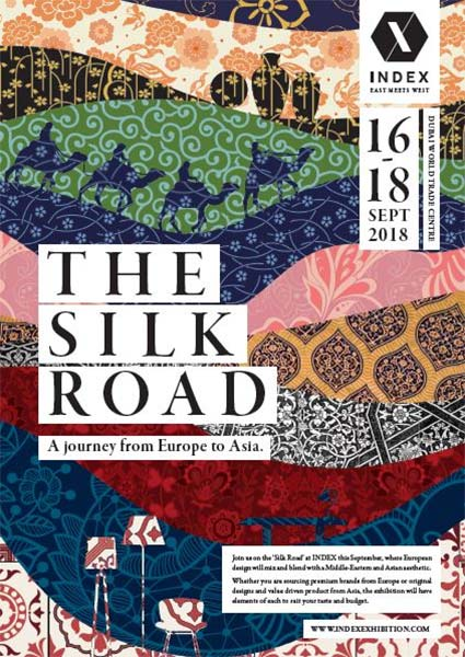 The silk road exhibition
