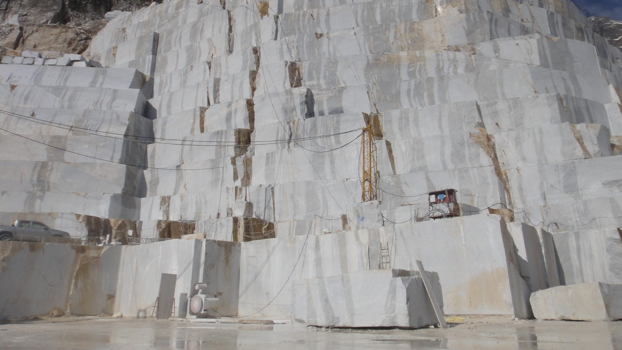 turkish marble quarry