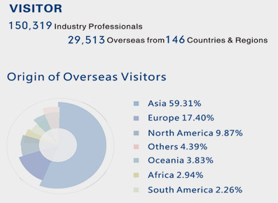 Review of overseas visitors 2018