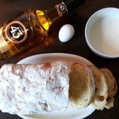 Spannend ontbijt: wentelteefjes Licor 43