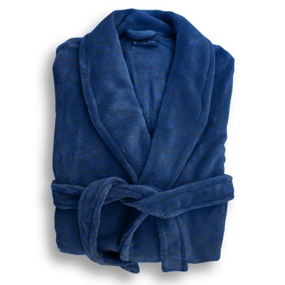 Microplush Robe DENIM