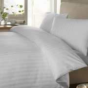 Sateen Stripe Quilt Cover Sets