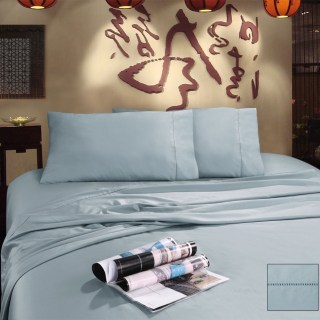 Bamboo Pearl Blue bed