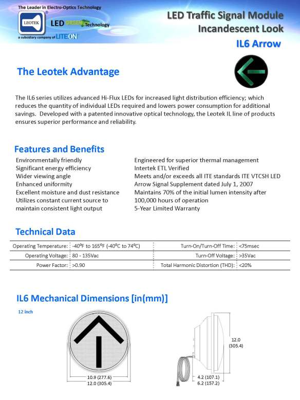 Leotek.IL6.Signal.Arrow.Spec.Sheet.V6-111711_Page_1
