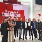 Marc Fichel sur le plateau de VIVEMENT DIMANCHE PROCHAIN