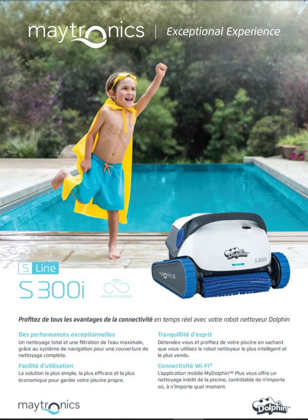Robot Dolphin S 300i, Robot Dolphin S 300i, Marc Robin Piscines