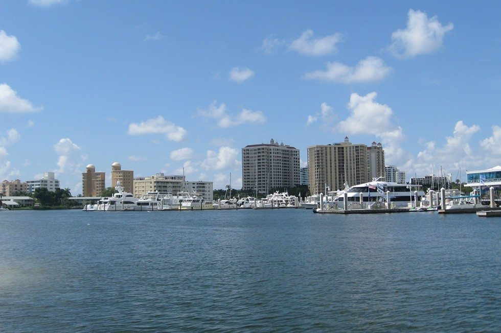 sarasota from the water