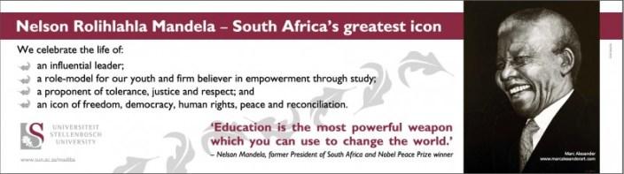 Banner at Stellenbosch University 6